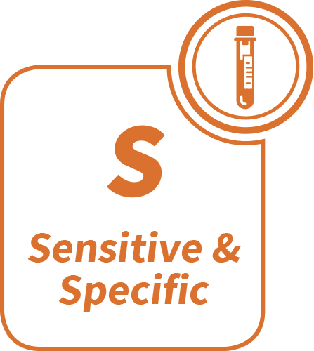 Sensitive & Specific - Our technology brings high sensitivity and specificity to drive appropriate treatment choice