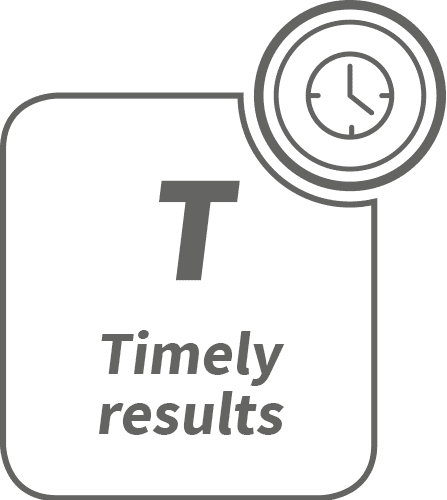 Timely Results - Results within 7 calendar days from blood draw
